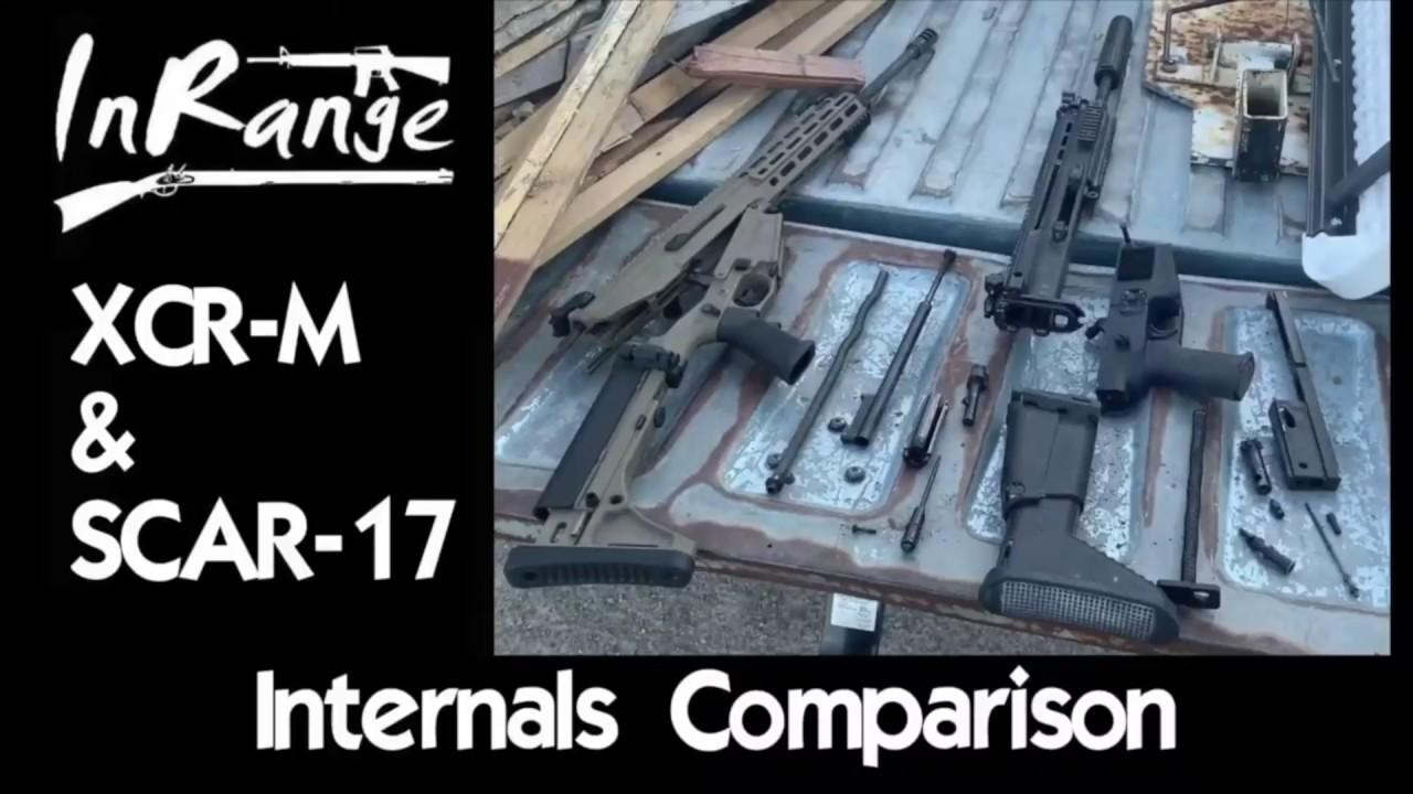 Robinson Arms XCR-M & FN SCAR-17 Internals Comparison