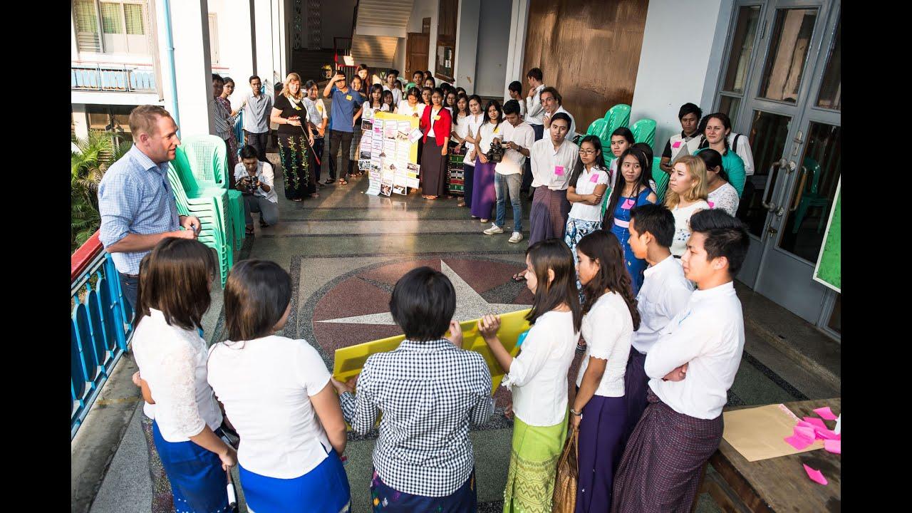 Myanmar Netherlands Water Challenge 2016 - Campus Program @ Yangon  Technological University