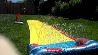 Dawson And The Slip-n-slide-7-21-12