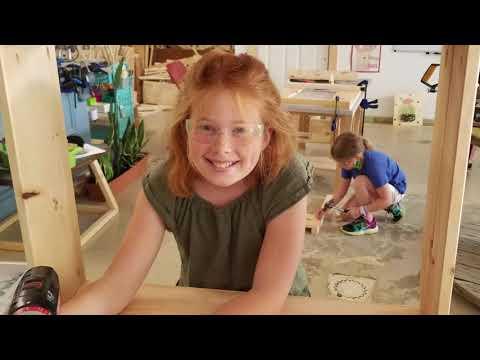 Summer 2021- Woodworking camp-Week 1
