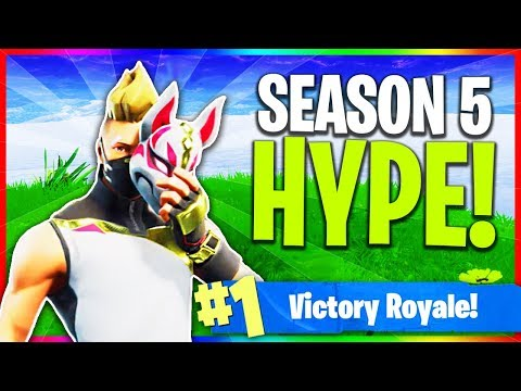 "NEW Fortnite ""Season 5 Skins"" And All ""Battlepass"" Items! (Fortnite: Season 5)"