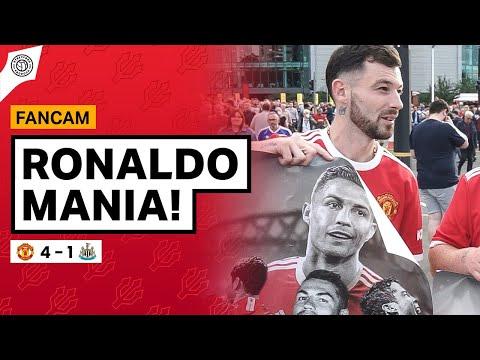 Ronaldo Mania Has Begun! | Fancams | Manchester United 4-1 Newcastle
