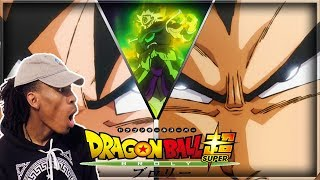 BROLY LOOKING SEXY!! | Dragon Ball Super Broly Movie Trailer LIVE REACTION