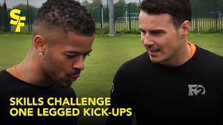 One legged kick-ups | F2 Skills Challenge | Slash Football