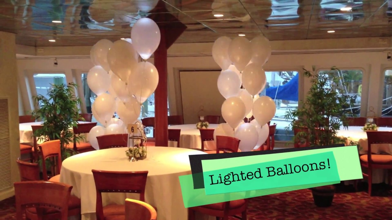 Sweet 16th with red carpet and flashing balloon decor ...