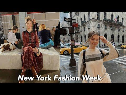 Follow Me Around NYC During Fashion Week!