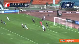2015 K리그 챌린지 28R 강원FC vs 서울이랜드FC 하이라이트