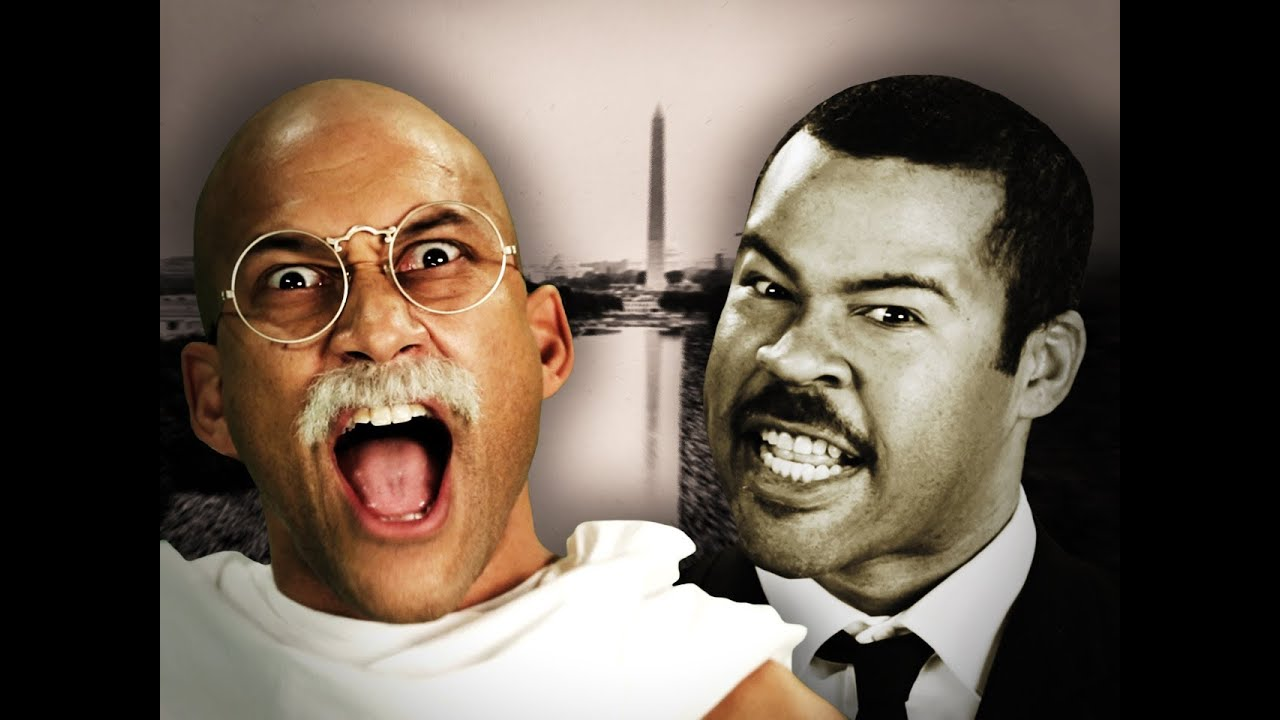 Gandhi vs Martin Luther King Jr  Epic Rap Battles of History
