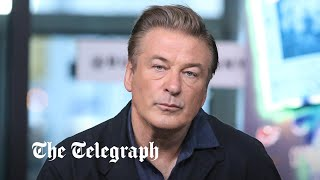 Aerials from scene where Alec Baldwin fatally shot woman on set