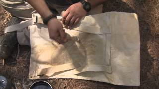 Muleteam Canvas Company, and how to wax canvas. By master woodsman