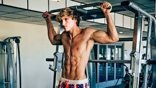Logan Paul Workout (GYM COMPILATION)