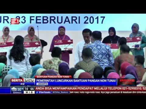 Jokowi Luncurkan Bantuan Pangan Nontunai Melalui KKS Mp3