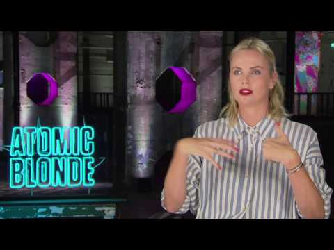 Atomic Blonde: Charlize Theron Official Movie Interview