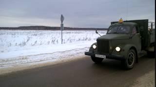 ГАЗ 51 с прицепом УАЗ