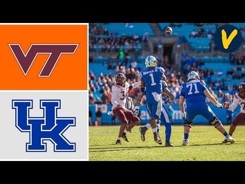 Virginia Tech Vs Kentucky Highlights | 2019 Belk Bowl Highlights | College Football