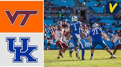 Virginia Tech vs Kentucky Highlights | 2019 Belk Bowl Highlights | College Football