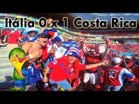 Itália 0 x 1 Costa Rica - FIFA WORLD CUP 2014 - Arena Pernambuco