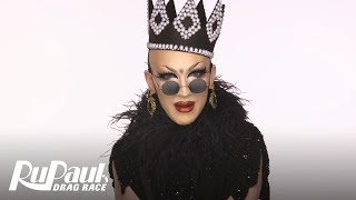 Drag Makeup Tutorial: Sasha Velour's Fabergé Egg Look | RuPaul's Drag Race Season 9 | Now on VH1