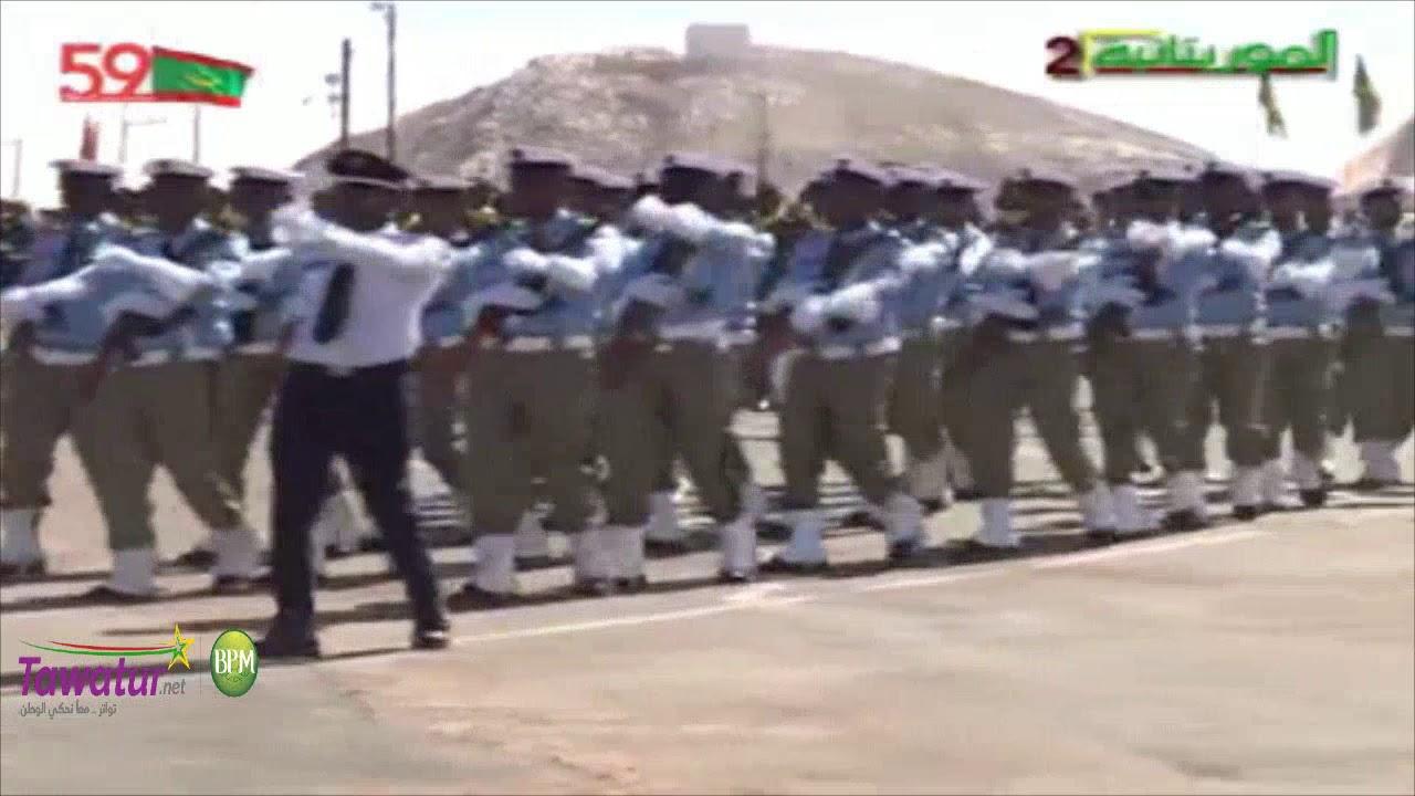 مشاركة الشرطة الوطنية - فعاليات العرض العسكري - ذكرى 59 عيد الاستقلال بمدينة اكجوجت