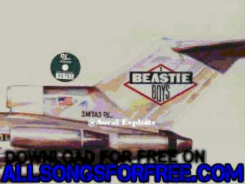 beastie boys  No Sleep Till Brooklyn  Licensed To Ill