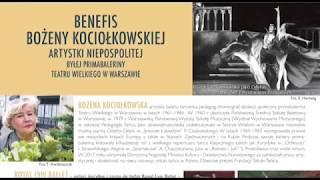 XXXVII FHMazurkas - Benefis B.Kociołkowskiej -