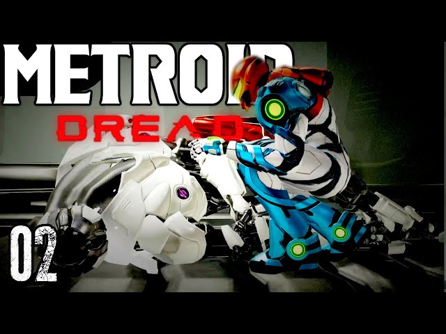 Let's Play Metroid Dread Part 2 - Killing And Absorbing An E.M.M.I