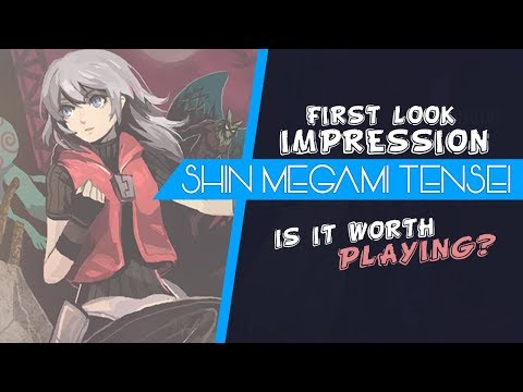 Shin Megami Tensei - First Look Impressions - Is It Worth Playing in 2019?