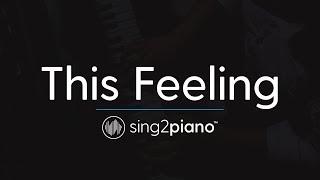 This Feeling (Piano Karaoke Instrumental) The Chainsmokers & Kelsea Ballerini