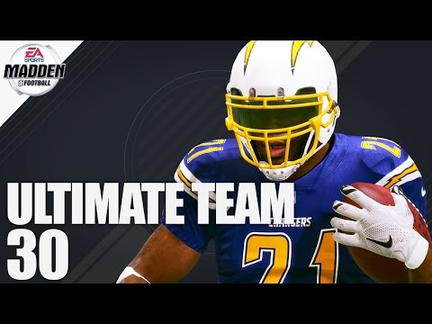 Madden 17 Ultimate Team - LaDainian Tomlinson Ep.30