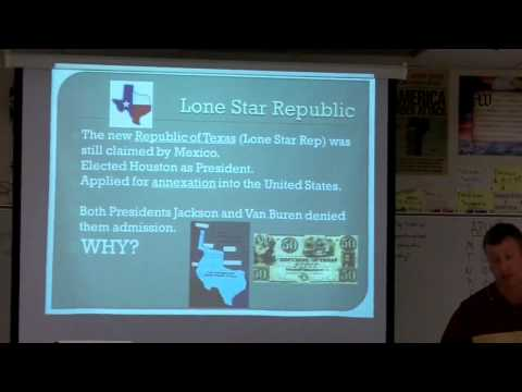 APUSH 5.2  Texas Independence and Mexican War