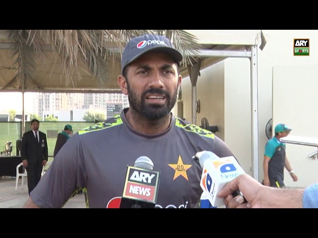 'Australian batting line up is not that much experience but they are very competent' - Wahab Riaz