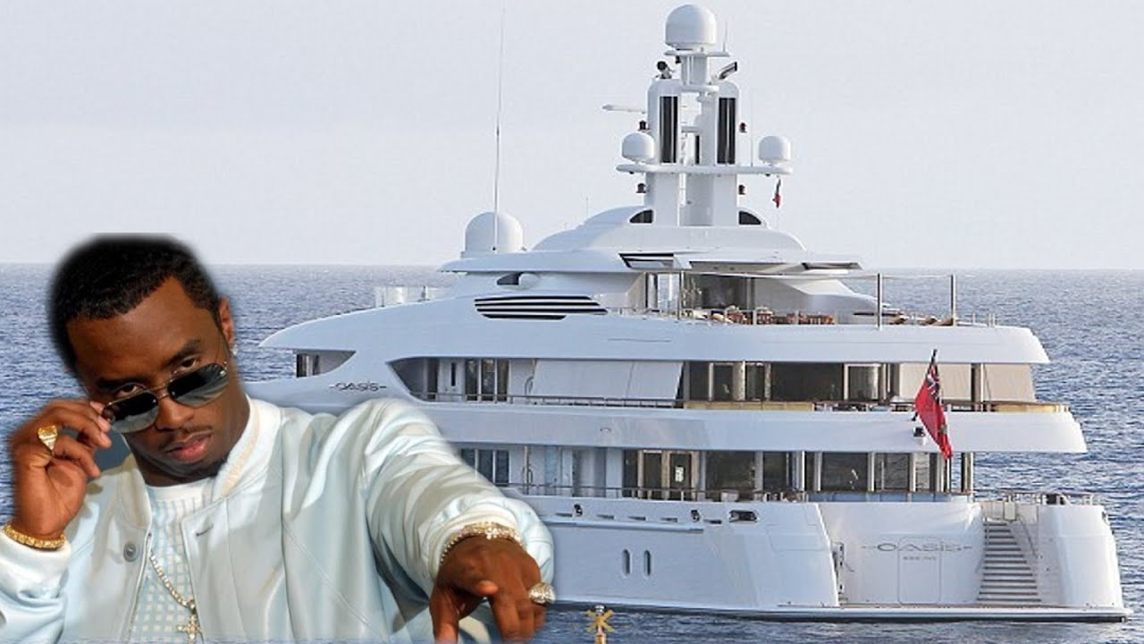 Diddy Sean Combs Super Luxury Yacht Oasis 72 Million