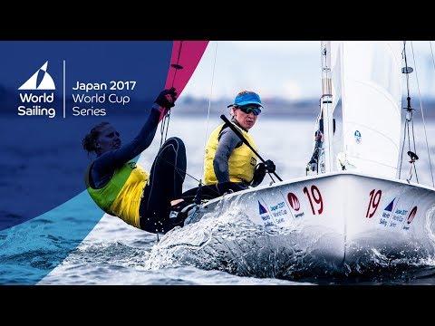 Full Women's 470 Medal Race  Sailing's World Cup Series  Gamagori, Japan 2017