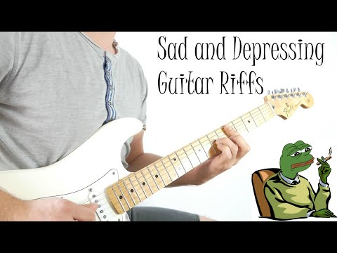 Top 10 Saddest and Most Depressing Guitar Riffs