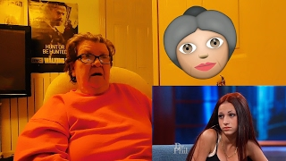 GRANDMA REACTS TO Dr Phil | CASH ME OUTSIDE | The Angry Grandma