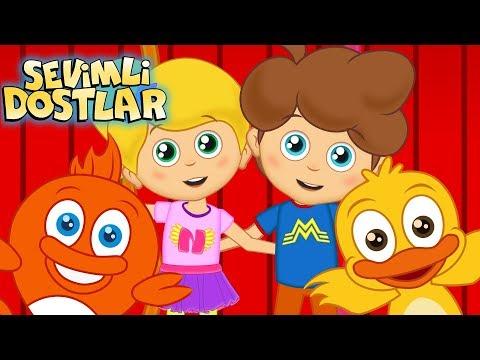 Sevimli Dostlar Şarkısı Ve Sevimli Dostlar Ile 45 Dk Çocuk Şarkıları | Kids Songs And Nursery Rhymes