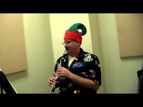 The Twelve Days of Christmas  Electric Piano and Clarinet