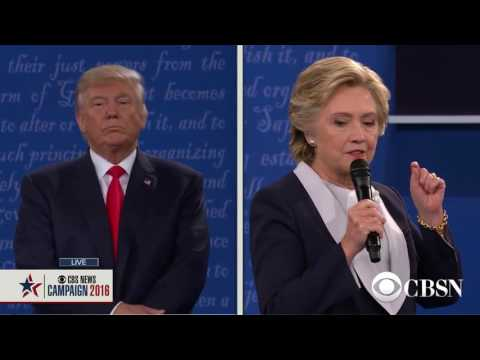 2016 Town Hall Presidential Debate  Part 7