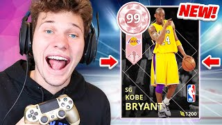 OMG I PULLED 99 PINK DIAMOND KOBE BRYANT!!! NBA 2K18