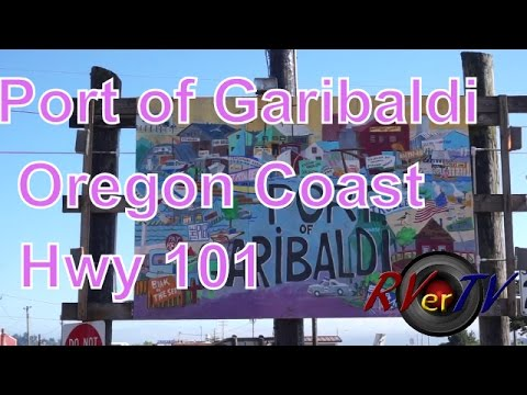 Oregon Coast...101 South...Port of Garibaldi...RV Park...Harbor...Fresh Crab....RVerTV