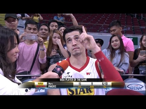Best Player: Marc Pingris  | Governor's Cup 2016