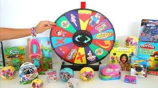TotoyKids juega a La Ruleta de Sorpresas Niños contra Niñas!!! Quién crees que Ganará esta vez??? thumbnail