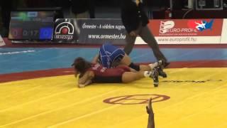 Women's W - Hristova (BUL) pin Maroulis (USA), 55 kg repechage
