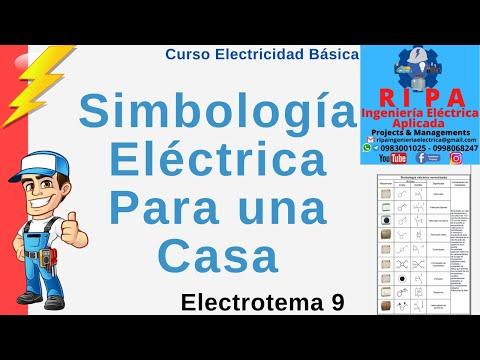 Simbologia electrica residencial