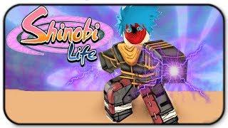 Roblox Shinobi Life - Storm kekkei genkai and Bolt Gameplay