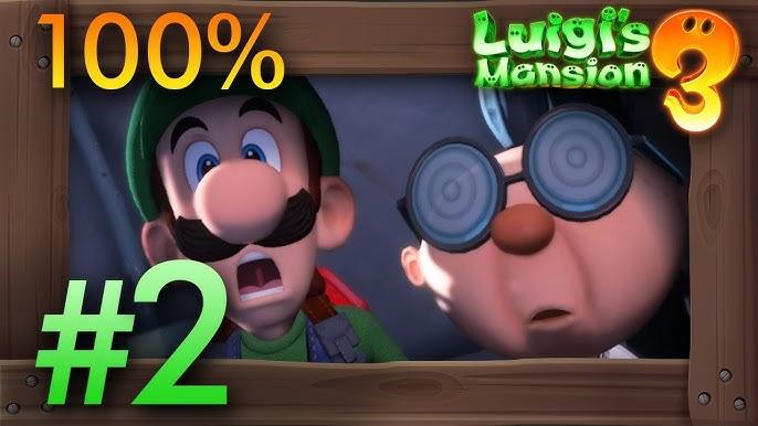 Luigi S Mansion 3 100 Walkthrough All Gems Boos