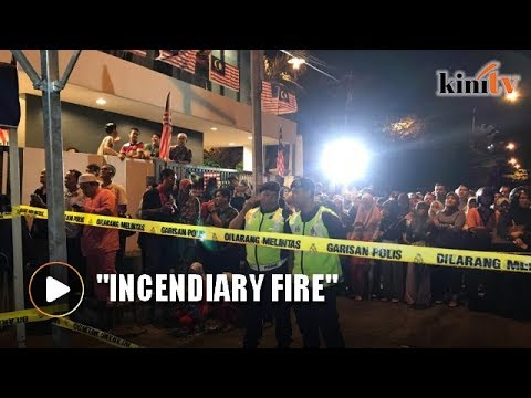 Tahfiz school fire set intentionally, says Fire and Rescue Department