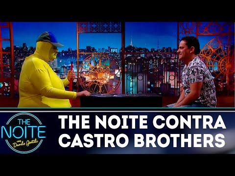 Não pode rir: The Noite vs Castro Brothers  The Noite 160718