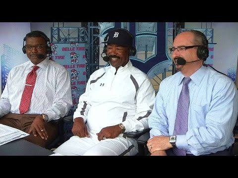 CWS@DET: Lemon on receiving Willie Horton award