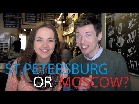 St.Petersburg Or Moscow? | Cafe Chat with Anastasia Semina